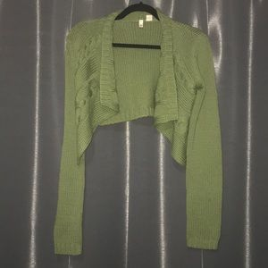 Anthropologie Moth 100% Wool Cardigan Size Small